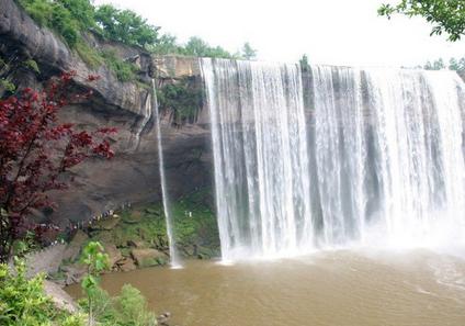 万州大瀑布-亚洲第一瀑